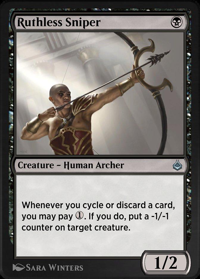 Carta /Ruthless Sniper de Magic the Gathering