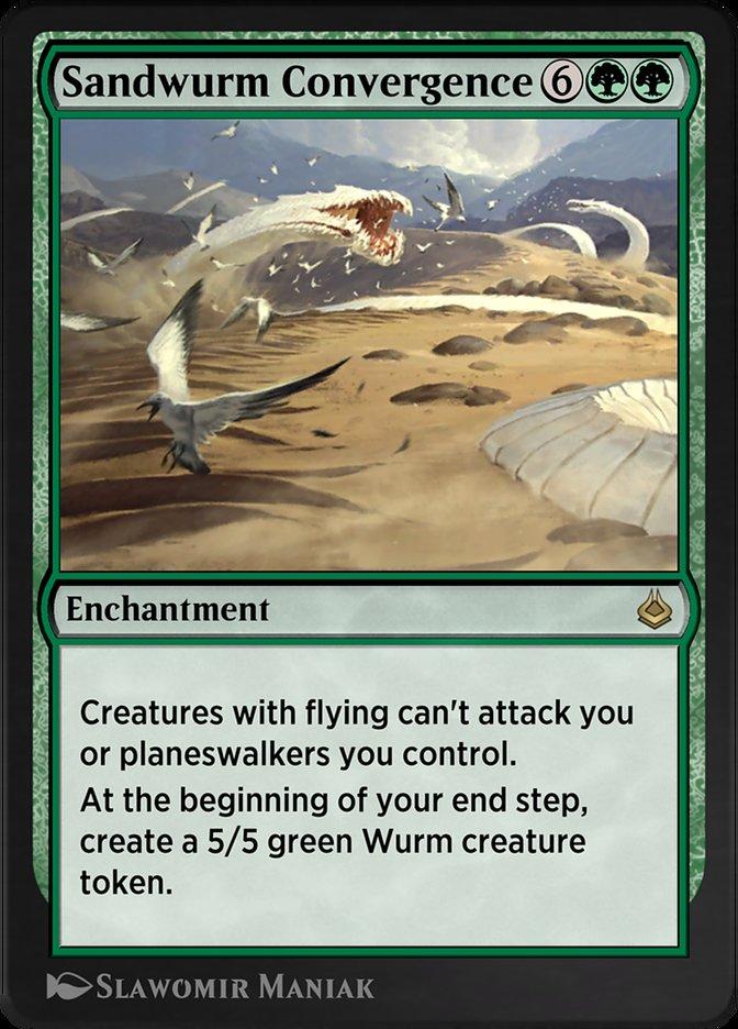 Carta /Sandwurm Convergence de Magic the Gathering