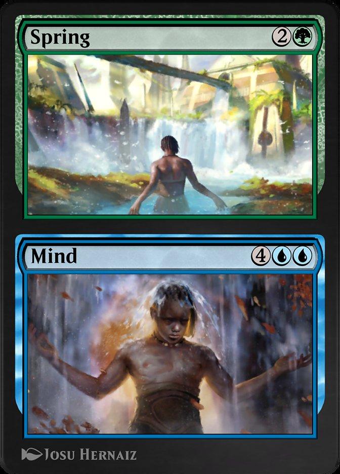 Carta /Spring // Mind de Magic the Gathering