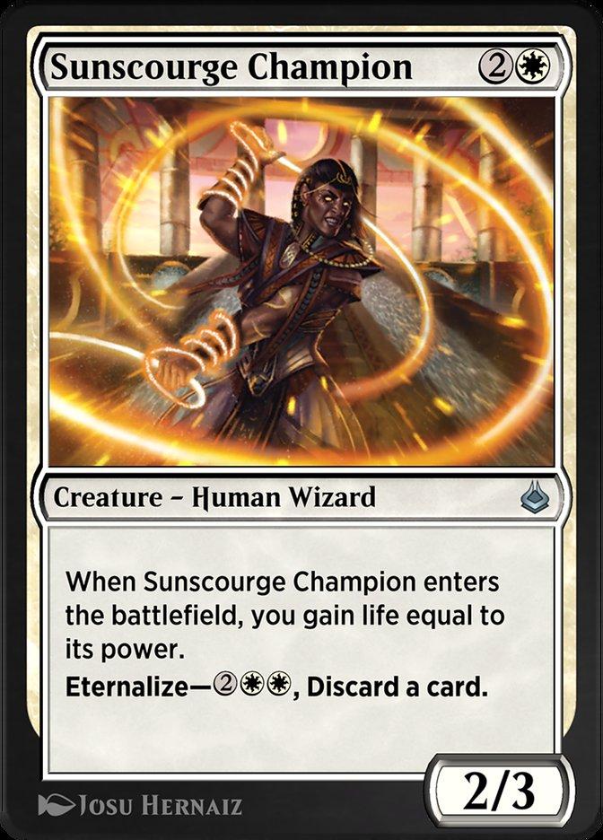 Carta /Sunscourge Champion de Magic the Gathering