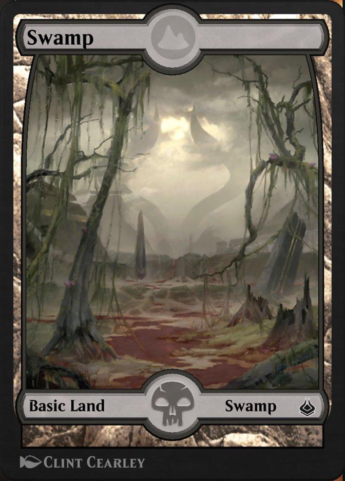 Carta /Swamp de Magic the Gathering