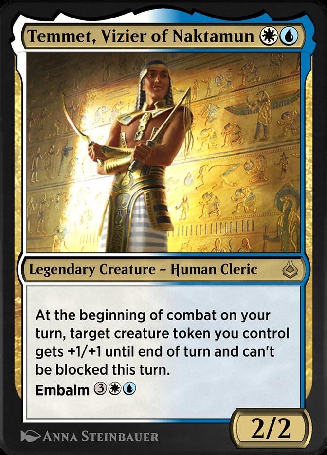 Carta /Temmet, Vizier of Naktamun de Magic the Gathering