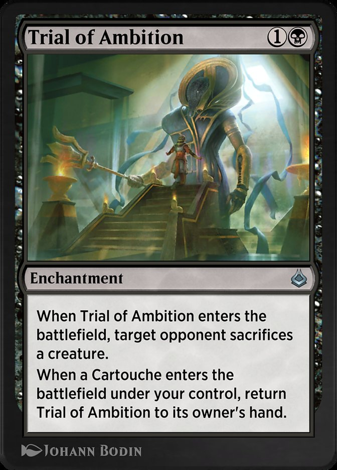 Carta /Trial of Ambition de Magic the Gathering