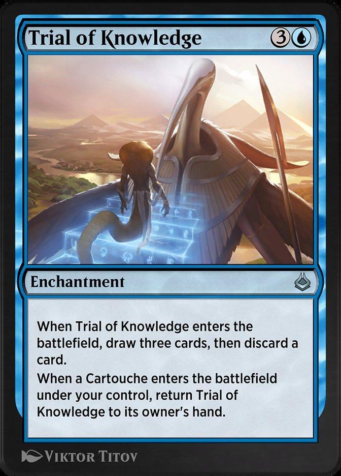 Carta /Trial of Knowledge de Magic the Gathering