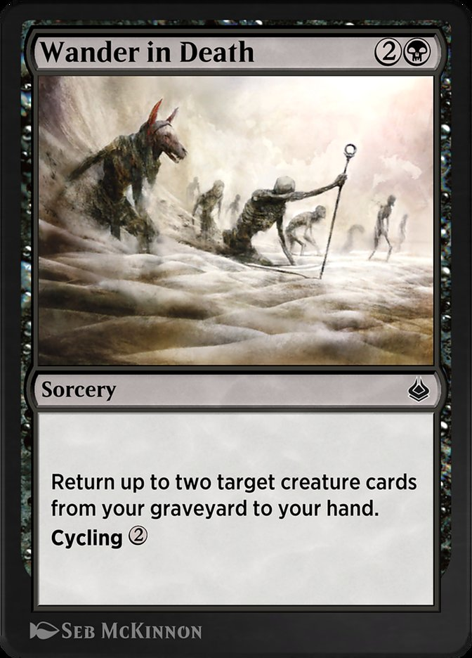 Carta /Wander in Death de Magic the Gathering