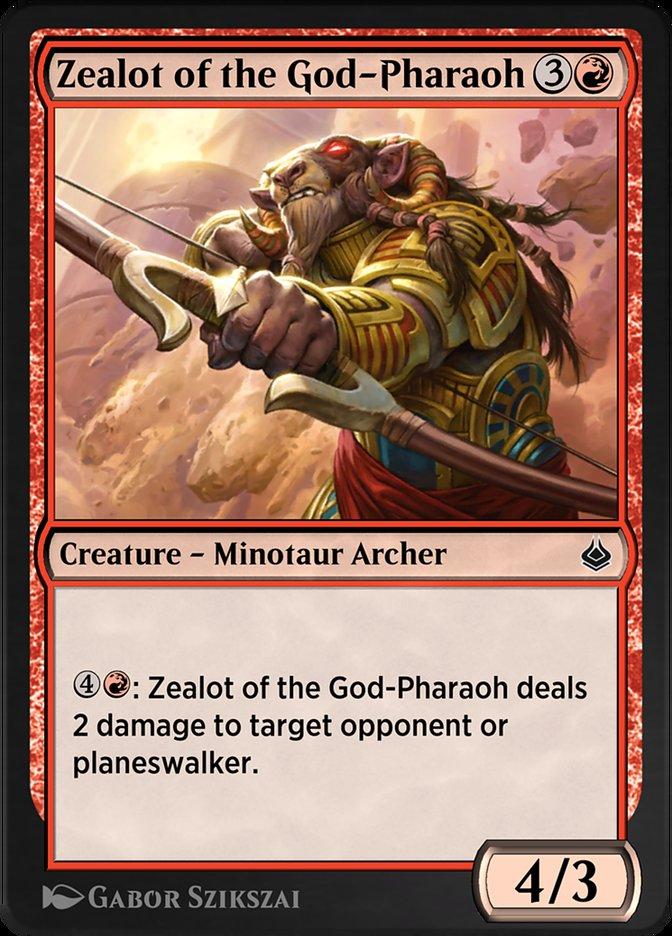 Carta /Zealot of the God-Pharaoh de Magic the Gathering