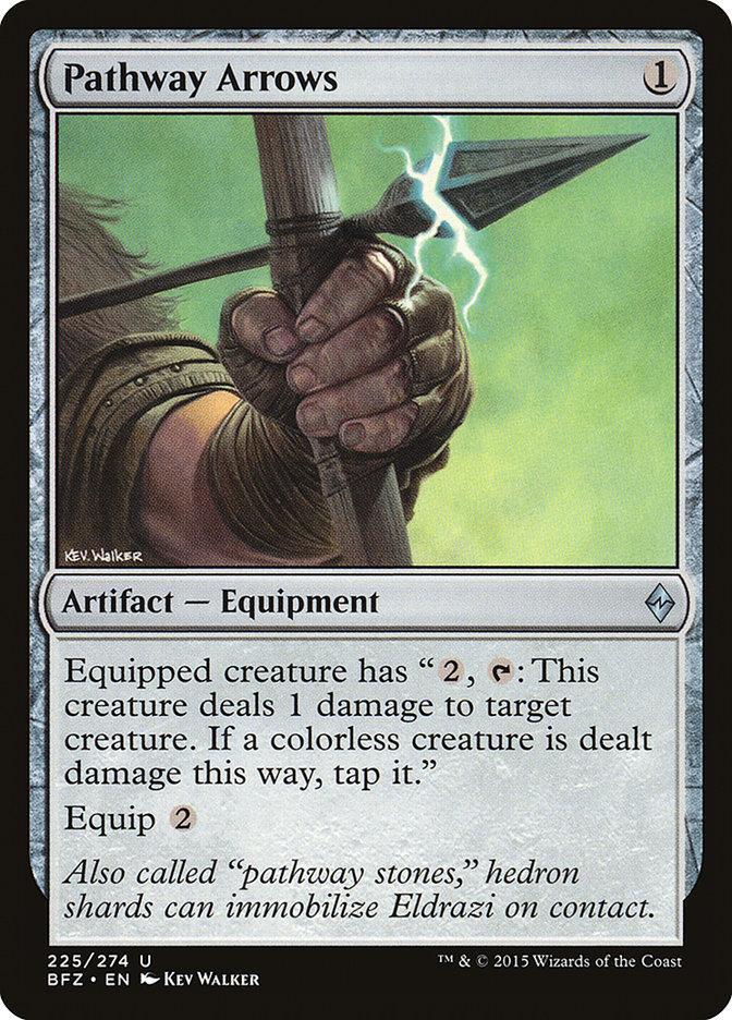Carta Flechas da Trilha/Pathway Arrows de Magic the Gathering