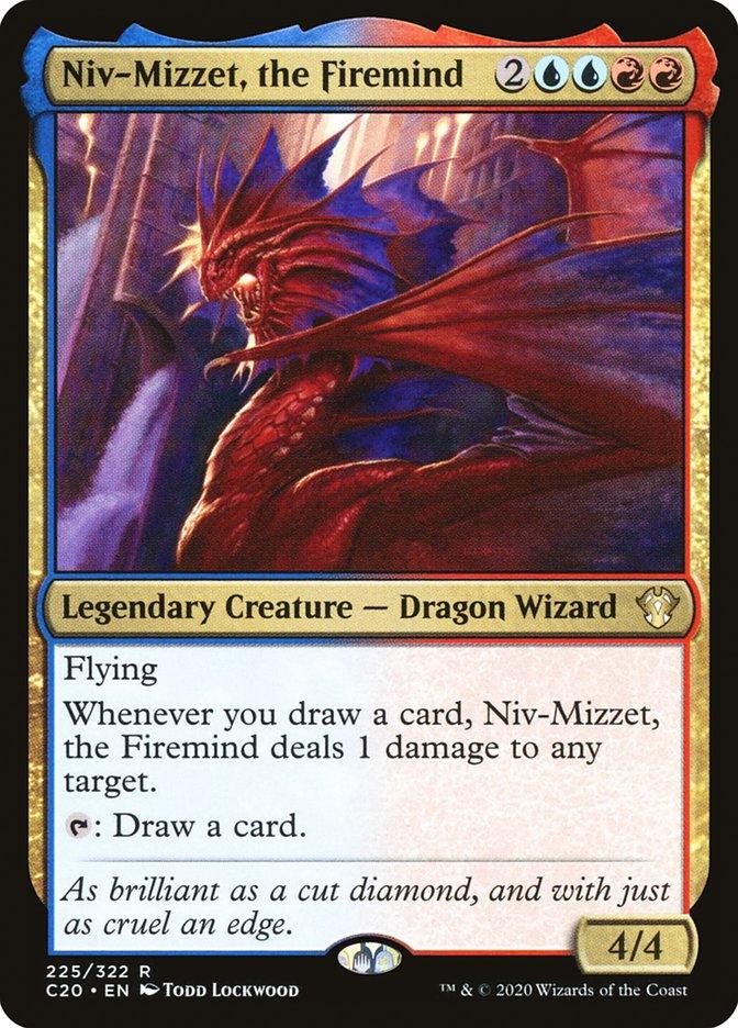 Carta Niv-Mizzet, o Mente de Fogo/Niv-Mizzet, the Firemind de Magic the Gathering