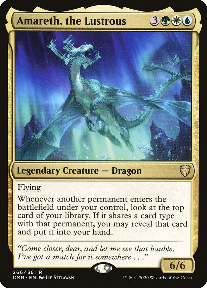 Carta /Amareth, the Lustrous de Magic the Gathering