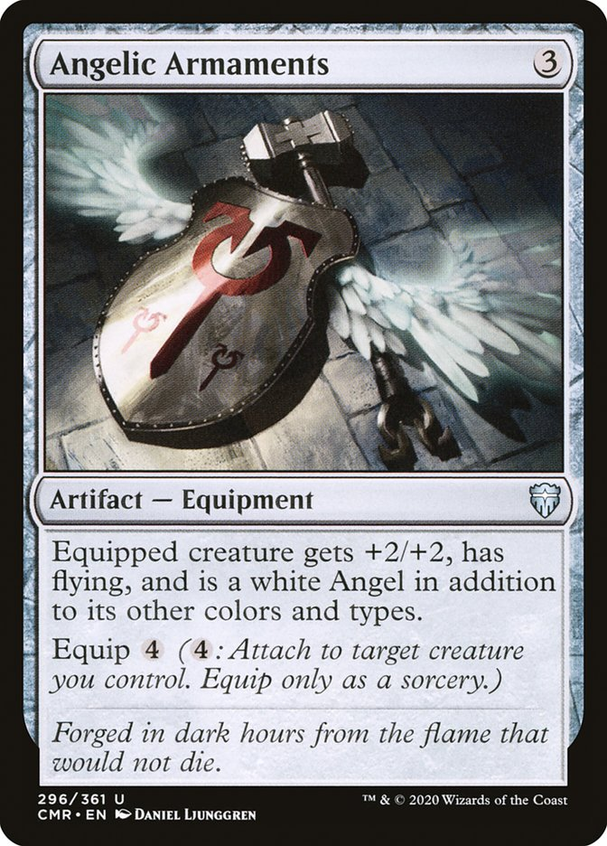Carta /Angelic Armaments de Magic the Gathering