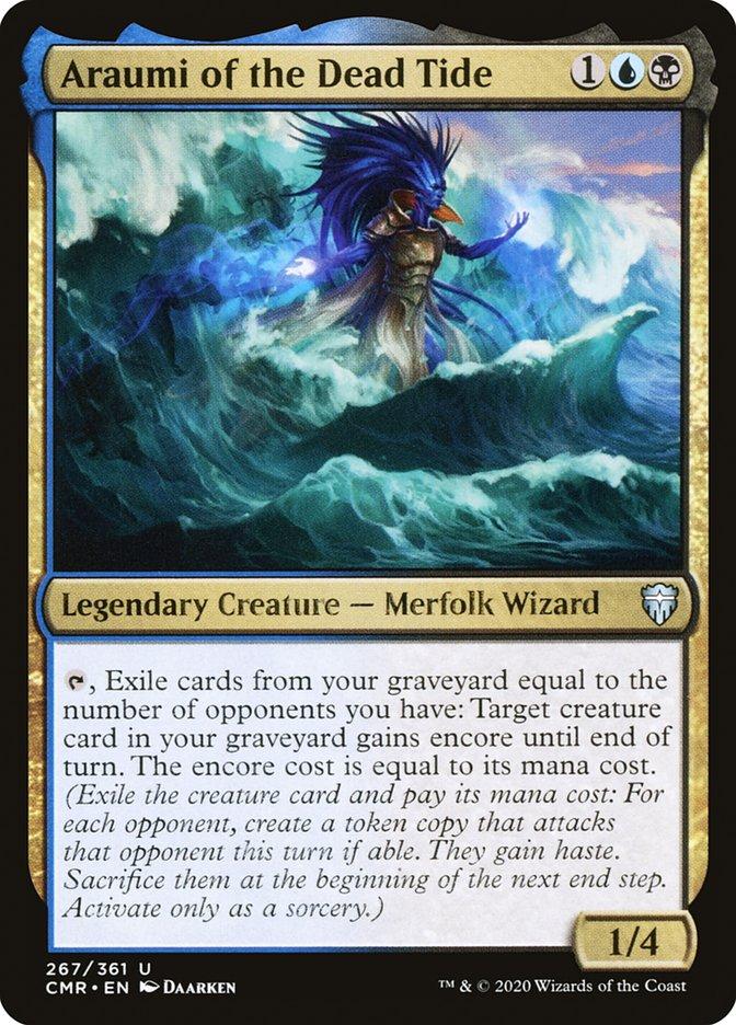 Carta /Araumi of the Dead Tide de Magic the Gathering
