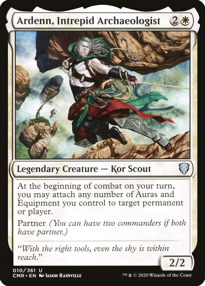 Carta /Ardenn, Intrepid Archaeologist de Magic the Gathering