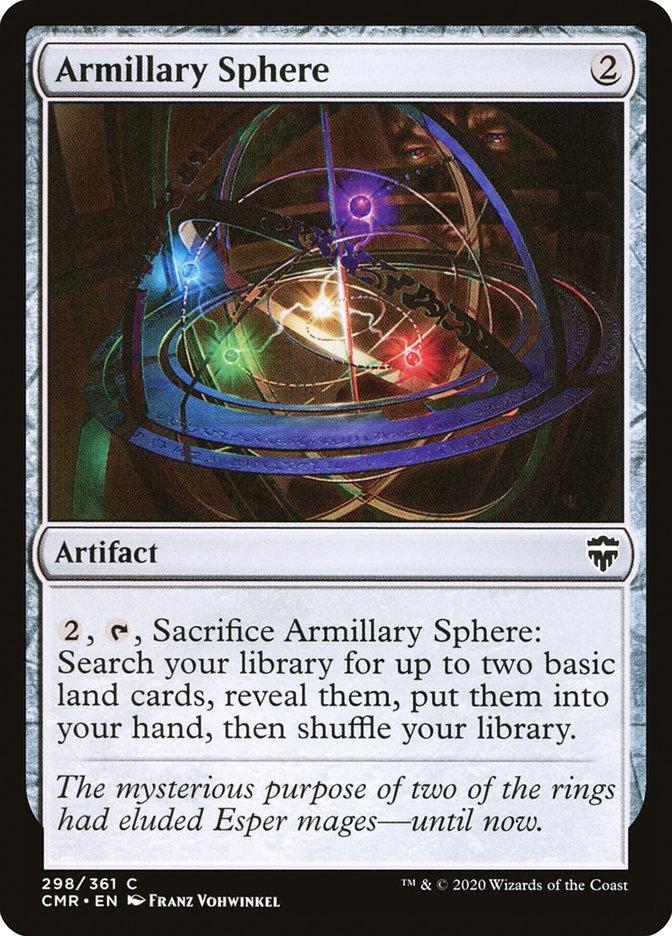 Carta /Armillary Sphere de Magic the Gathering