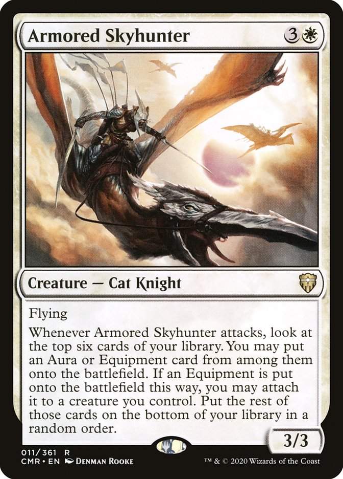 Carta /Armored Skyhunter de Magic the Gathering