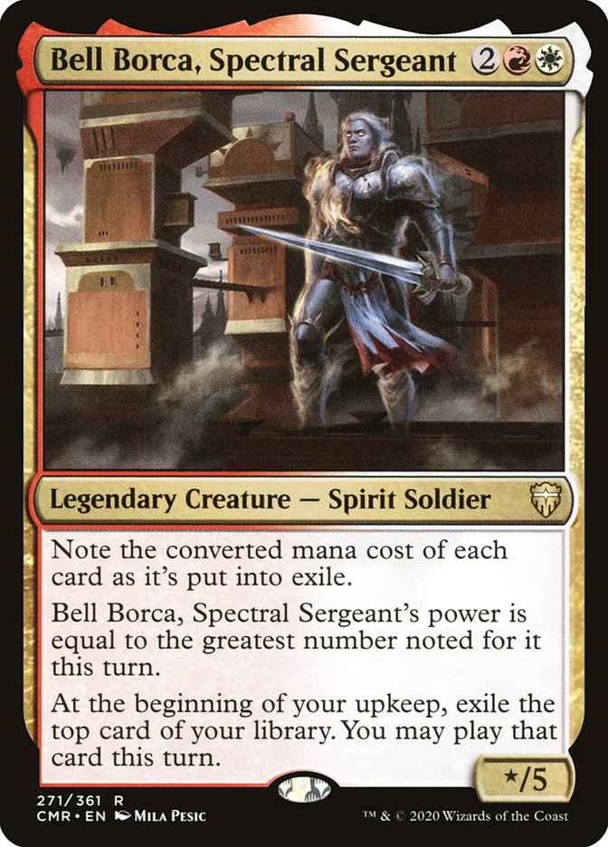 Carta /Bell Borca, Spectral Sergeant de Magic the Gathering