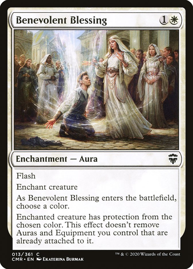 Carta /Benevolent Blessing de Magic the Gathering