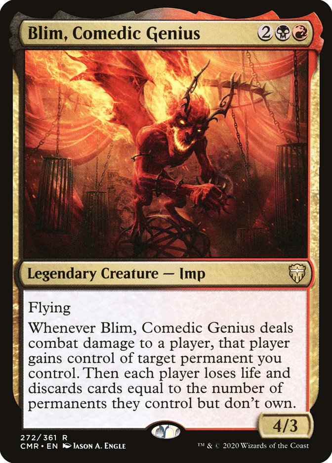 Carta /Blim, Comedic Genius de Magic the Gathering