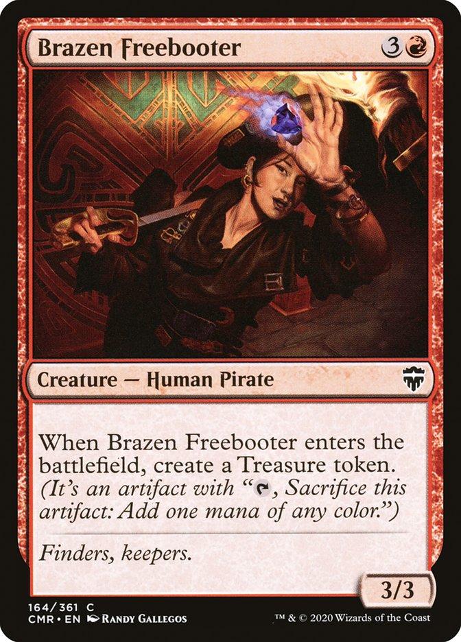 Carta /Brazen Freebooter de Magic the Gathering