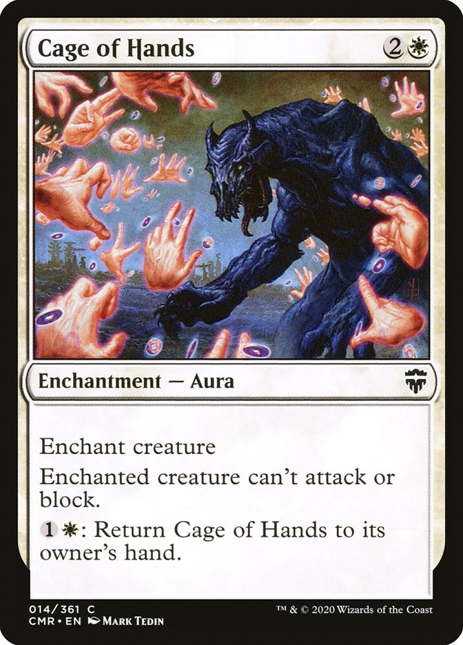 Carta /Cage of Hands de Magic the Gathering