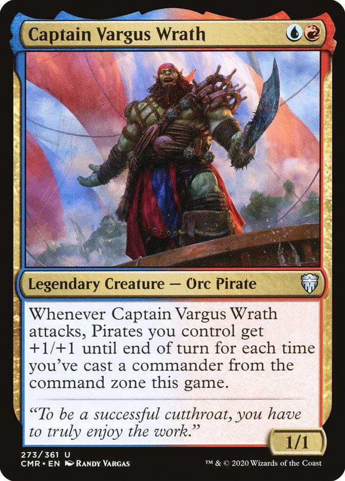 Carta /Captain Vargus Wrath de Magic the Gathering
