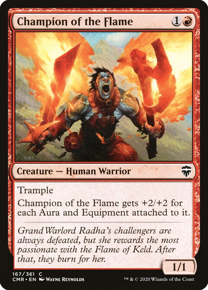 Carta /Champion of the Flame de Magic the Gathering