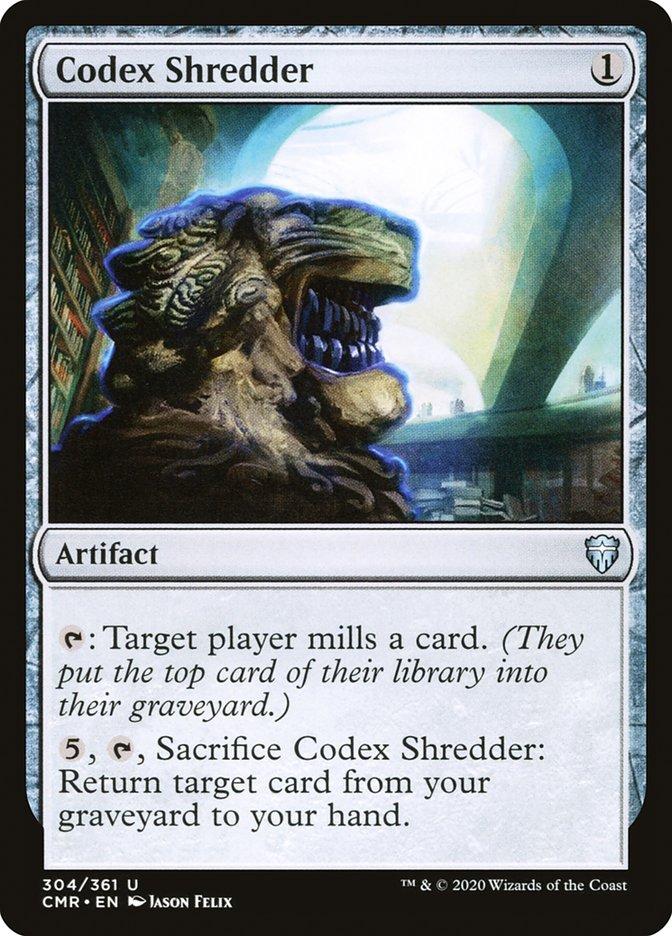 Carta /Codex Shredder de Magic the Gathering
