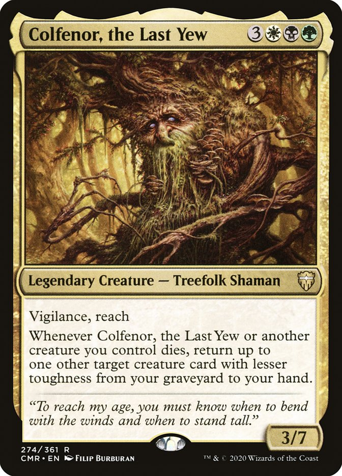 Carta /Colfenor, the Last Yew de Magic the Gathering