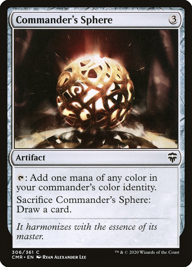 Carta /Commander's Sphere de Magic the Gathering