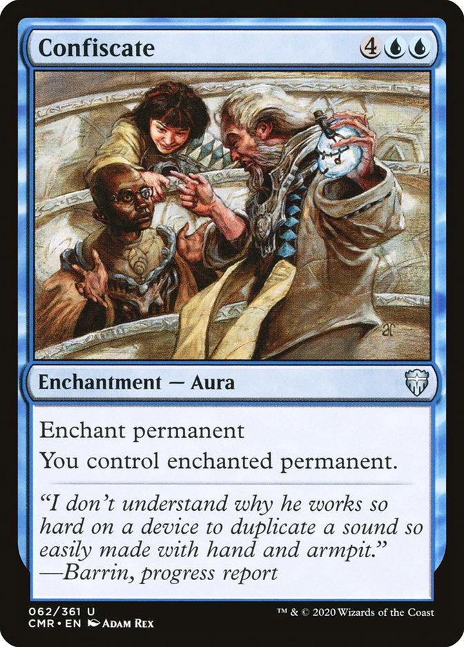 Carta /Confiscate de Magic the Gathering