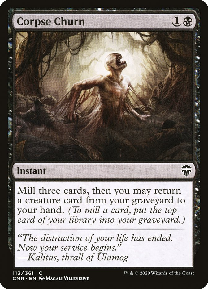 Carta /Corpse Churn de Magic the Gathering