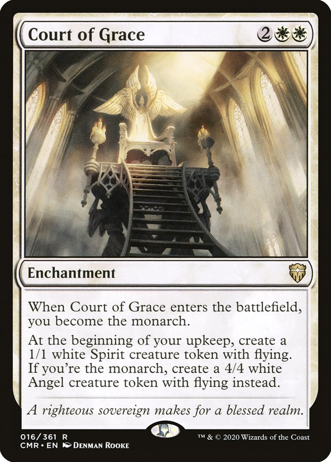Carta /Court of Grace de Magic the Gathering