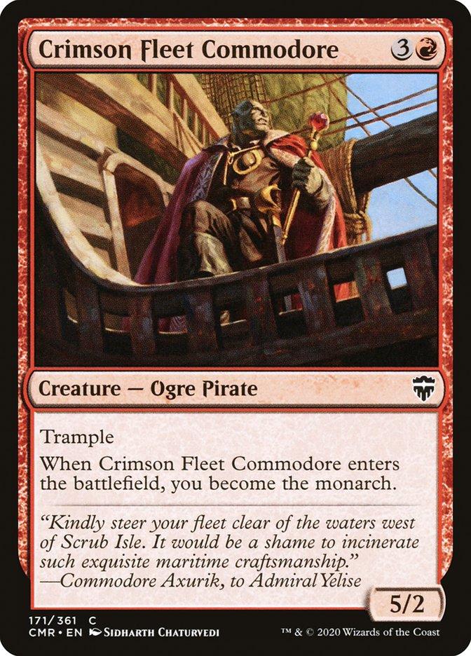 Carta /Crimson Fleet Commodore de Magic the Gathering