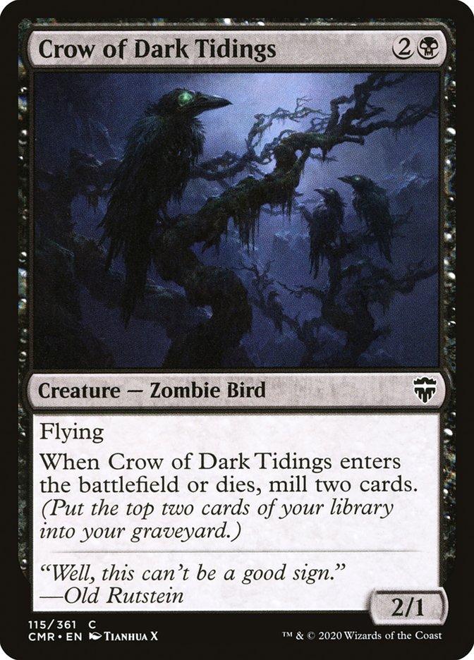 Carta /Crow of Dark Tidings de Magic the Gathering