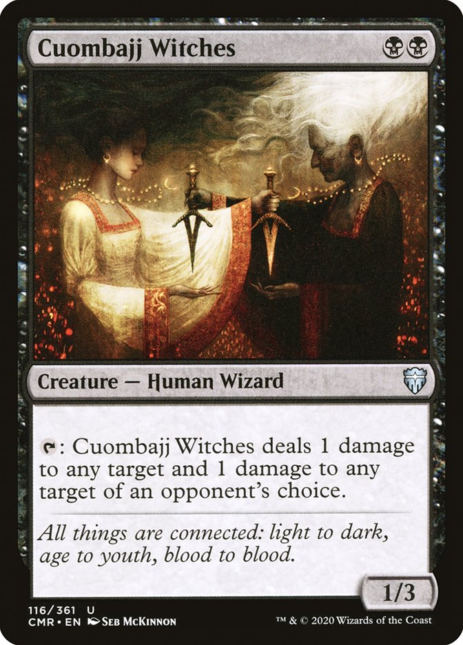Carta /Cuombajj Witches de Magic the Gathering