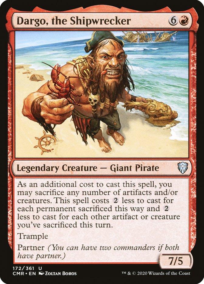 Carta /Dargo, the Shipwrecker de Magic the Gathering