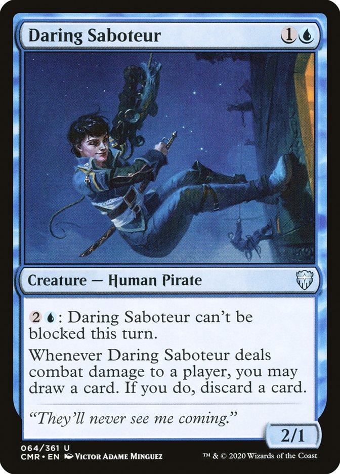 Carta /Daring Saboteur de Magic the Gathering