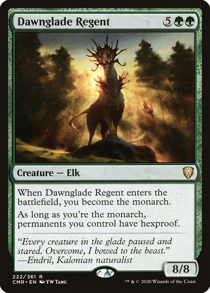 Carta /Dawnglade Regent de Magic the Gathering