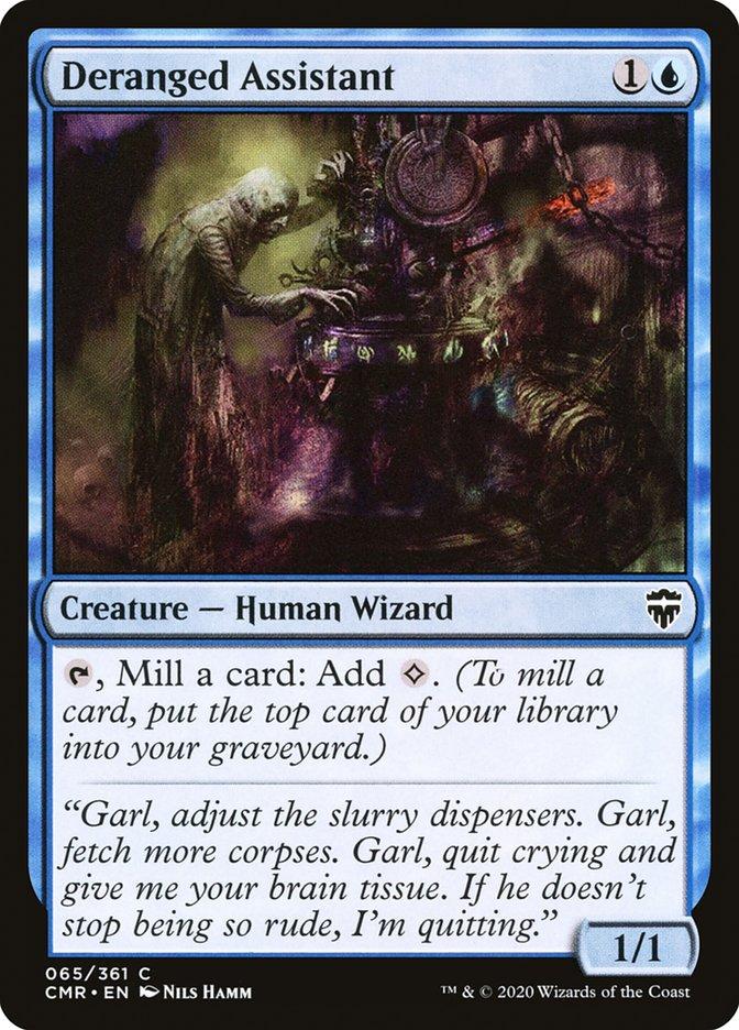 Carta /Deranged Assistant de Magic the Gathering
