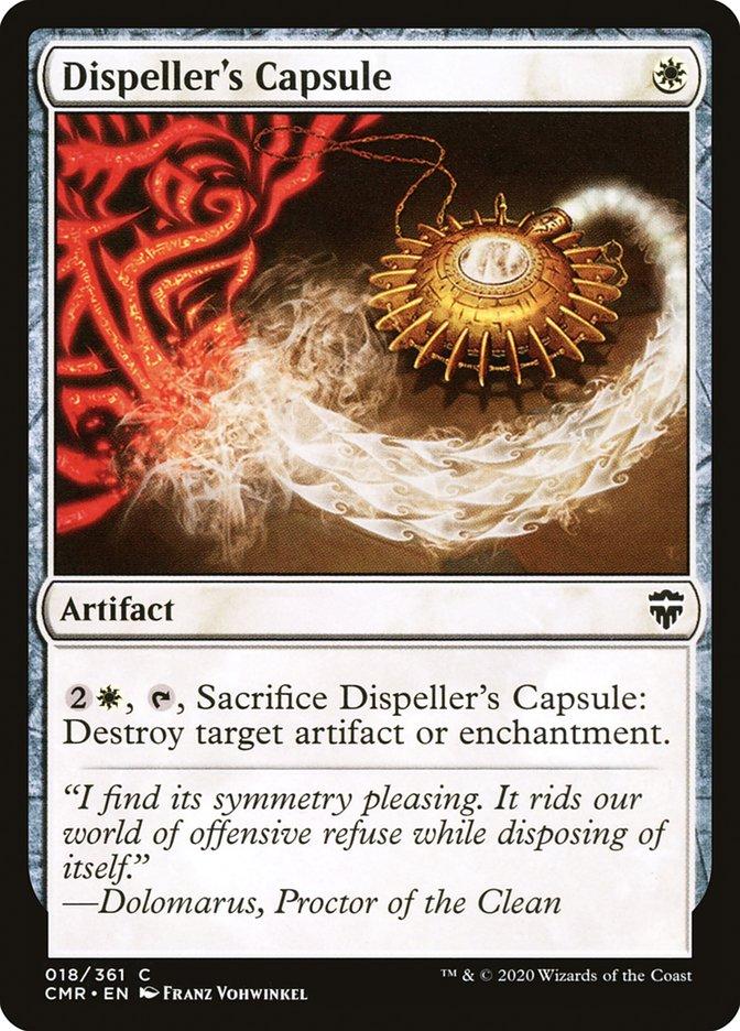 Carta /Dispeller's Capsule de Magic the Gathering