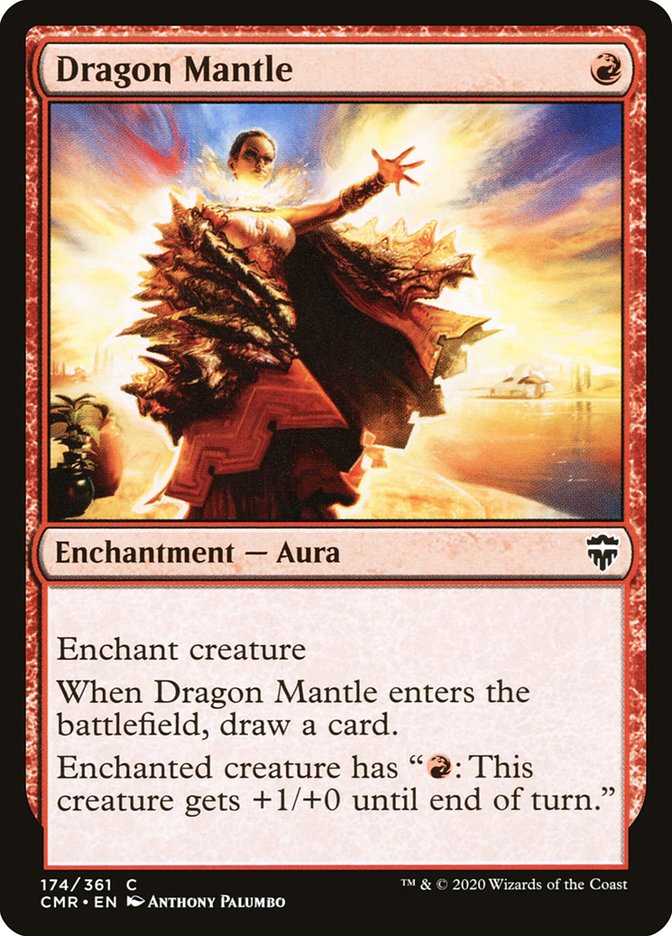 Carta /Dragon Mantle de Magic the Gathering