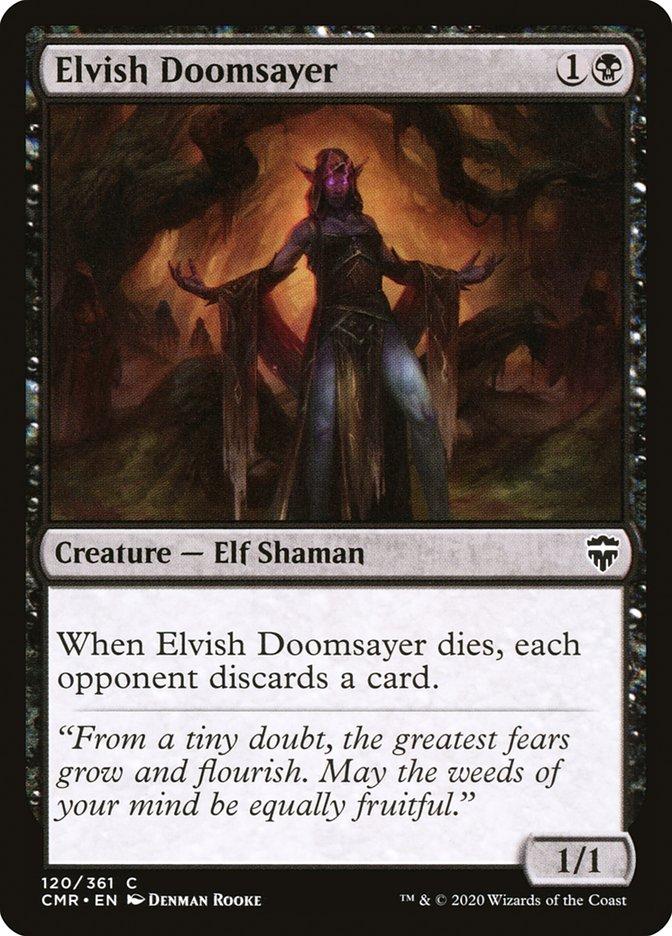 Carta /Elvish Doomsayer de Magic the Gathering