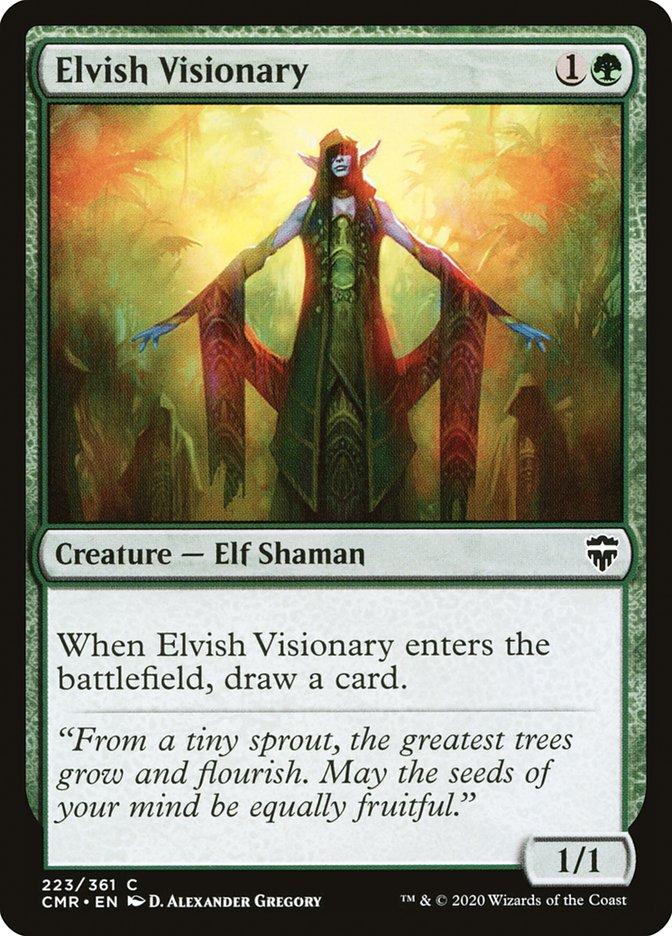 Carta /Elvish Visionary de Magic the Gathering