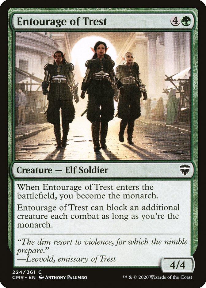 Carta /Entourage of Trest de Magic the Gathering