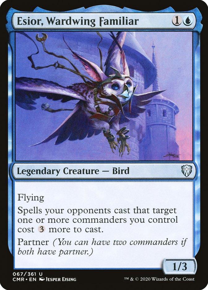 Carta /Esior, Wardwing Familiar de Magic the Gathering