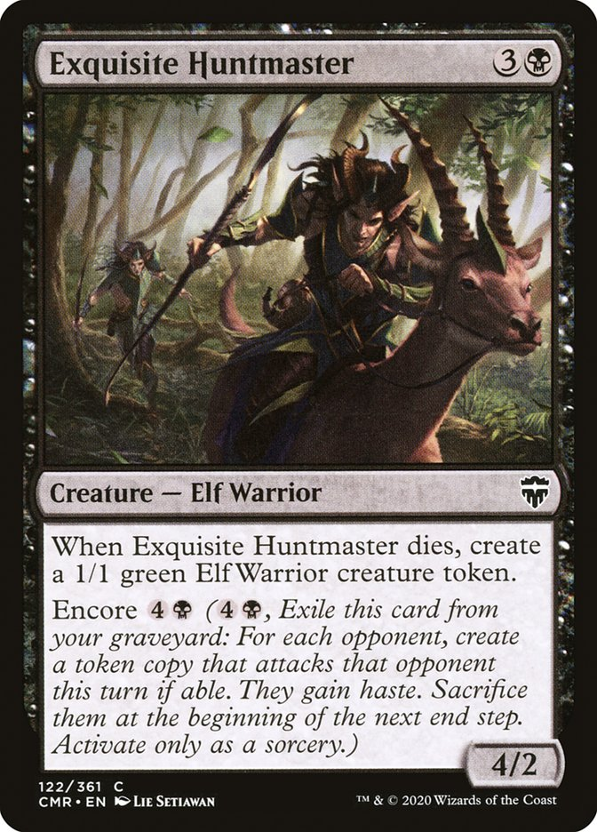 Carta /Exquisite Huntmaster de Magic the Gathering