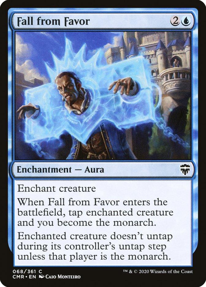 Carta /Fall from Favor de Magic the Gathering