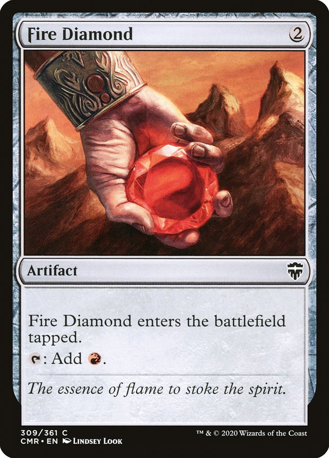 Carta /Fire Diamond de Magic the Gathering