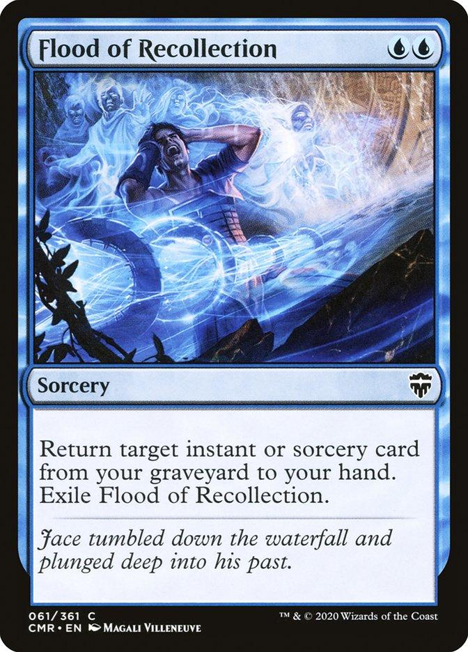 Carta /Flood of Recollection de Magic the Gathering