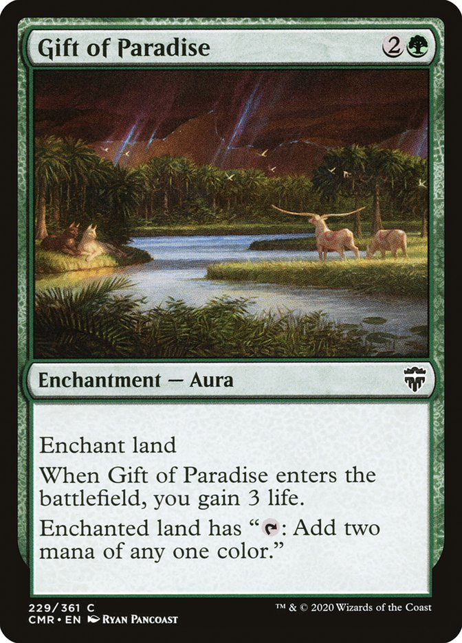 Carta /Gift of Paradise de Magic the Gathering