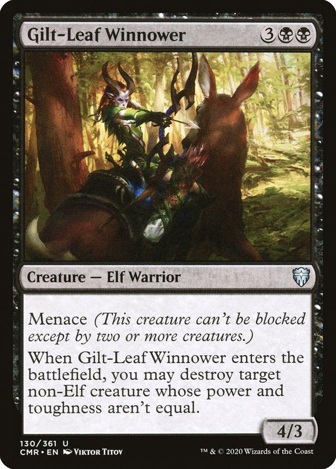 Carta /Gilt-Leaf Winnower de Magic the Gathering